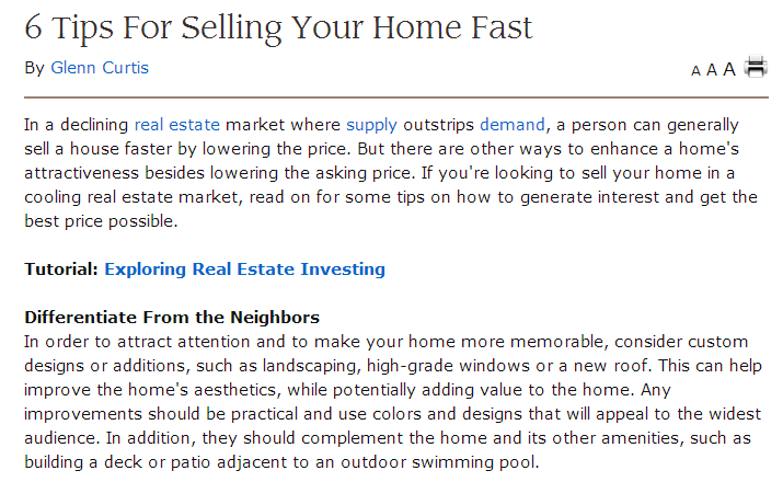 6 tips for selling your home fast