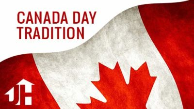 Celebrate Canada Day Tradition of Giving Out Flags
