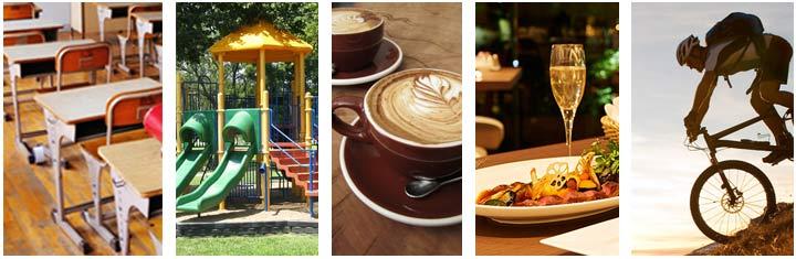 Vancouver Schools Parks Restaurants