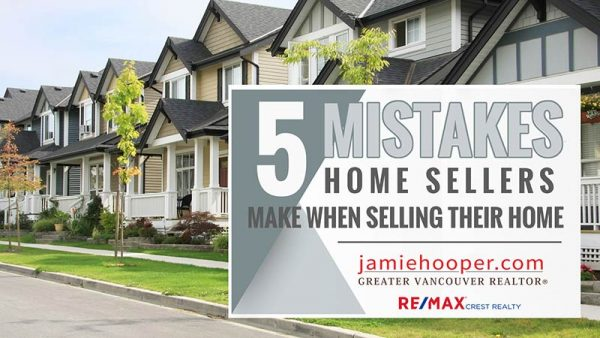 5 Mistakes Homesellers Make