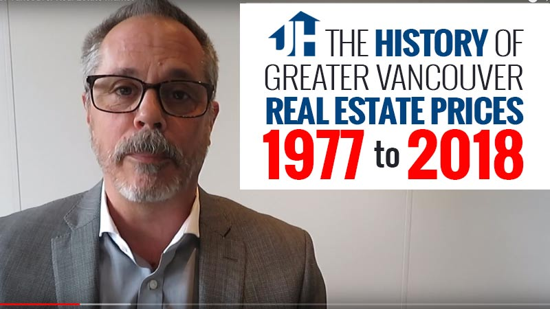 Real Estate Prices in Vancouver 77 to 2018
