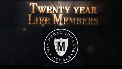 Medallion Lifetime Achievement Award